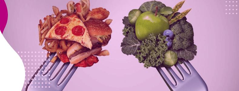 substituição de alimentos