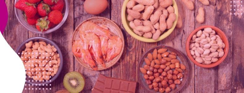 O que são as alergias alimentares? Nós explicamos!